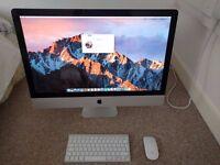 iMac 27'' (mid 2011) for sale - £680 ONO - max specs