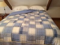 Nautica Patchwork Throw for 6' Bed
