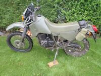 CAGIVA 350 Ex French Military - not Harley MT350 - Swap ?