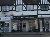 Electro2020, Audio Visual Services & TV Repairs, 4 High St, West Molesey, KT8 2NA. Established 1985.