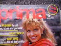 Marshall Cavendish Vintage Prima Magazines with sewing patterns