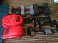 Mens exercise/boxing items