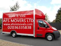 Urgent Removal Home Move Office Hire Man & Van UK & Europe Waste Clearance & Collections