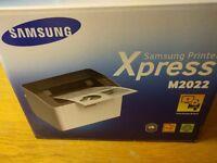 Samsung M2022 A4 Printer Xpress Mono Laser Printer - Comes with new toner