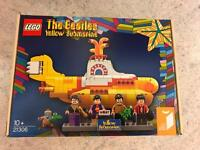 Brand New Rare Lego 21306 The Beatles Yellow Submarine Set