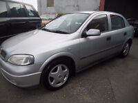P.X. TO CLEAR ,VAUXHALL ASTRA LS 8V 5 DOOR HATCHBACK,1.6.CC.....