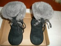 Children's Ugg Boots in Black Size 12
