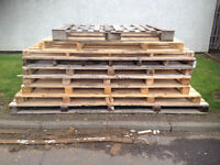 Large Wooden Pallet - good quality wood, ideal for fences, gates etc.