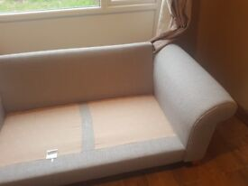 2 seater dfs sofa good condition