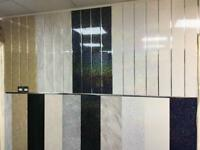 PVC PANELS CLADDING FOR WALLS AND CEILINGS BATHROOMS KITCHENS SHOWER