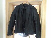 Ladies Leather Ridex motorcycle jacket 2xl