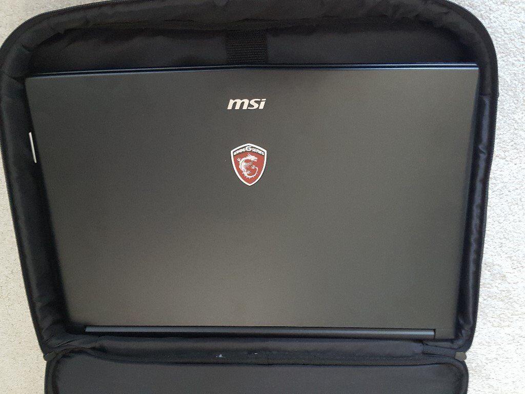 Laptop MSI I7-7700hq 16gb ddr4 ssd gtx