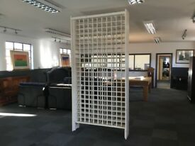 VERY LARGE WINE RACK - HOLDS approx. 242 BOTTLES