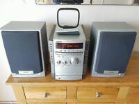 Sony CMT-CP555 hi fi system 5 disc player