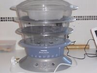 Tefal Steam Cuisine 3 Tier Steamer With Rice Bowl Instruction Booklet Included