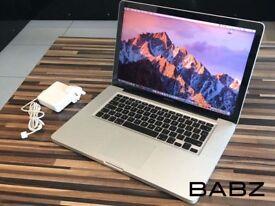 Apple Macbook Pro 15 - Intel i7 Quad Core 2Ghz - 1TB HD/8GB Ram - Adobe CS6/Final Cut/Logic Pro X