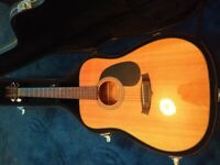 Tanglewood Nashville acoustic guitar TD8-ST with hard case