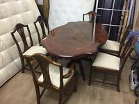 Dining table and 6 chairs Italy