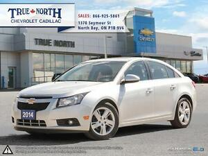 2014 Chevrolet Cruze JET BLK Leather-Appointed