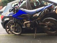 Yamaha WR 125 swaps for KMX 125or DT 125