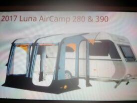 Trigano Aircamp caravan porch awning