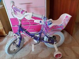 "Girls mermaid 12"" bike"