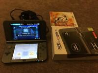 New Nintendo 3DS XL like new with Pokemon sun