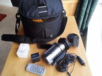 Canon HF 100 HD Camcorder SD Flash Memory / Mic Input + Loads of Extras