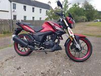 Lexmoto ZSX-R 125cc motorbike