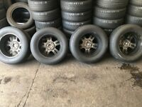 Mustang Rims + tyres 17inch