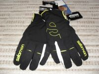 NEW salomon clima snow ski gloves