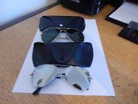 Ray Ban Aviator Sunglasses x 2
