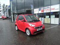 2014 14 SMART FORTWO CABRIO 1.0 PASSION MHD 2d AUTO 71 BHP **** GUARANTEED FINANCE ****