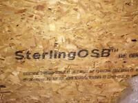Sterling osb boards and off cuts 18mm
