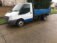 Ford Transit dropside flat bed
