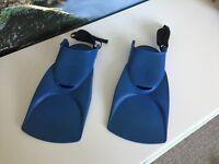Children's size adjustable flippers/fins (suit 2 - 5yrs)