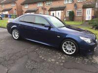 2008 BMW 520 M sport,diesel, 2 litre, remote central locking, mot 22/05/18, auto, service history