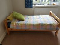 Single bed with drawers. Free