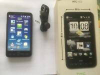 HTC Touch HD2 Retro Smartphone (O2) with box and headphones