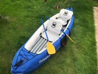2 kayak's