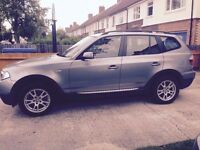 BMW X3 - Excellent condition, superb on fuel and low mileage! Auto gearbox and Service History!