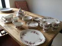 Royal Albert Lavender Rose Vintage Bone China Dinner Set