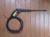 Karcher Pressure Washer Gun Hose & Standard Variable Lance Kit