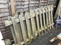 Free picket fence see picture