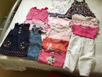 Baby girls clothing 12-18 months