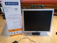 Advent LCD monitor 17 inch