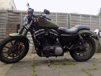 Harley Davidson XL883N 2016 Sportster