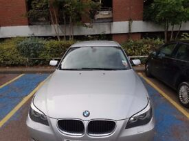 BMW 520d Silver