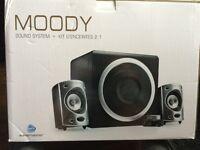 Wavemaster Moody 2.1 Speakers used