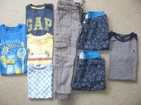 Bundle of boy clothes 6/7, Gap, Penguin, Ralph Lauren, Minecraft, John Lewis ...